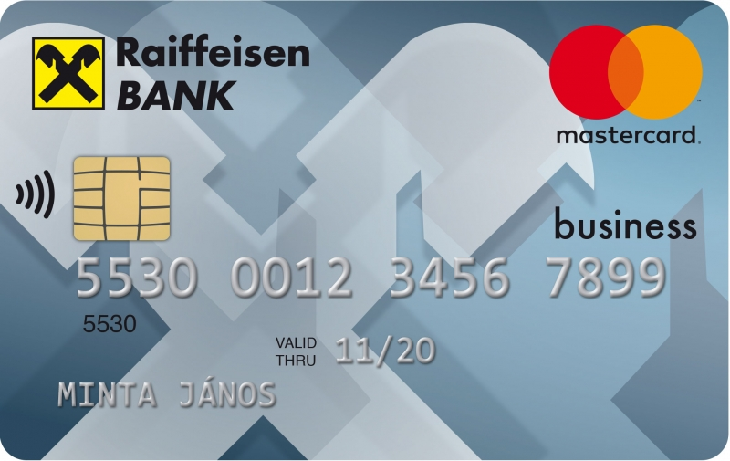 Raiffeisen MasterCard Business bankkártya