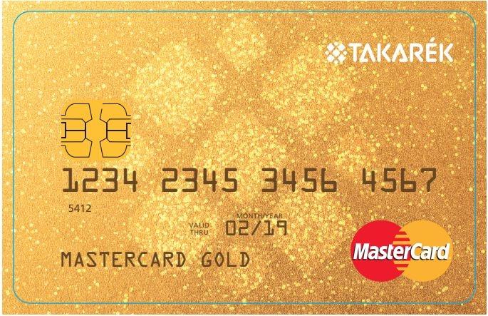 Polgári Bank MasterCard Gold (dombornyomott)