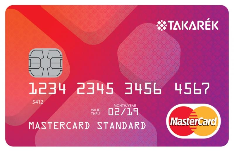 Polgári Bank MasterCard Standard (dombornyomott)