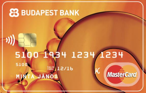 Budapest Bank MasterCard (dombornyomott)
