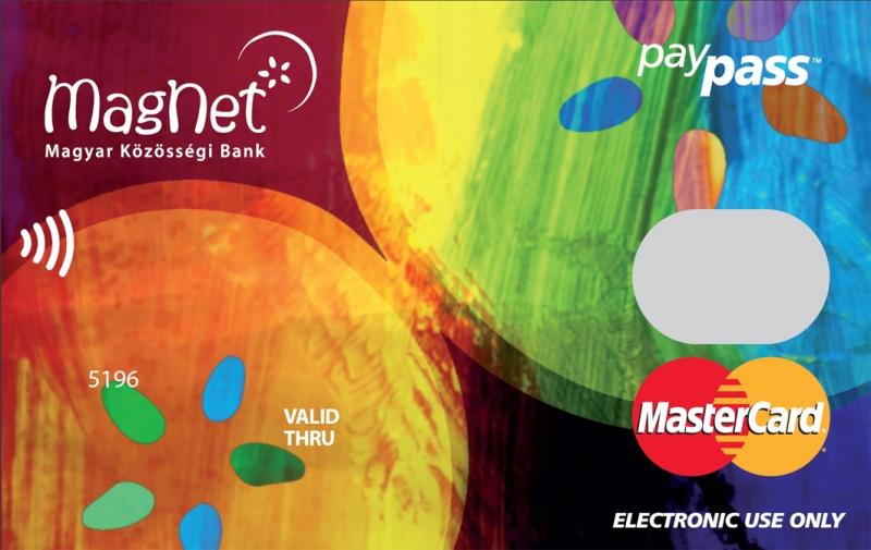 MagNet Bank MasterCard Alap (nem dombornyomott)