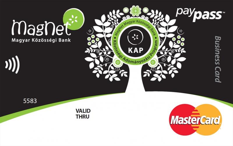 MagNet Bank MasterCard Business (dombornyomott)