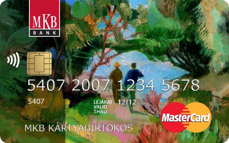MKB MasterCard Standard PayPass (dombornyomott)