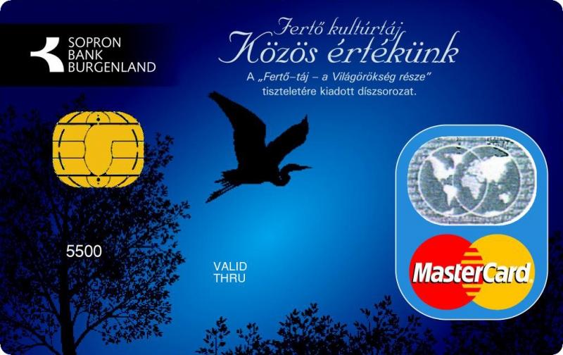 Sopron Bank MasterCard PayPass kártya (dombornyomott)