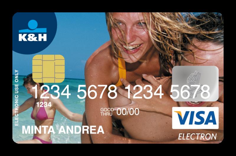 K&H Visa Classic alap bankkártya