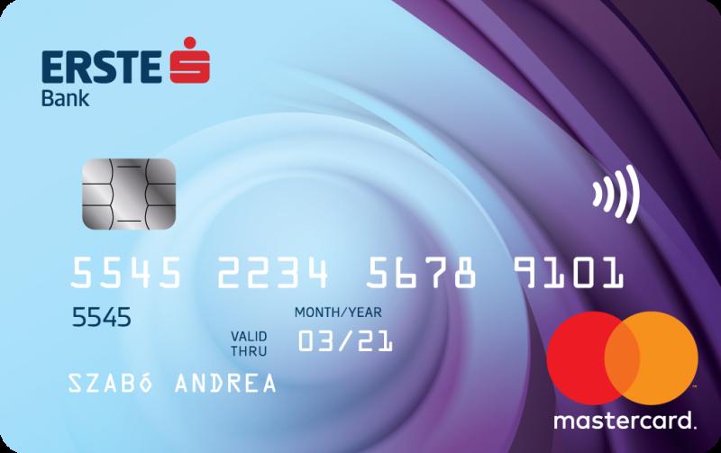 Erste Bank MasterCard Standard (dombornyomott)