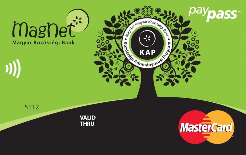 MagNet Bank MasterCard (dombornyomott)