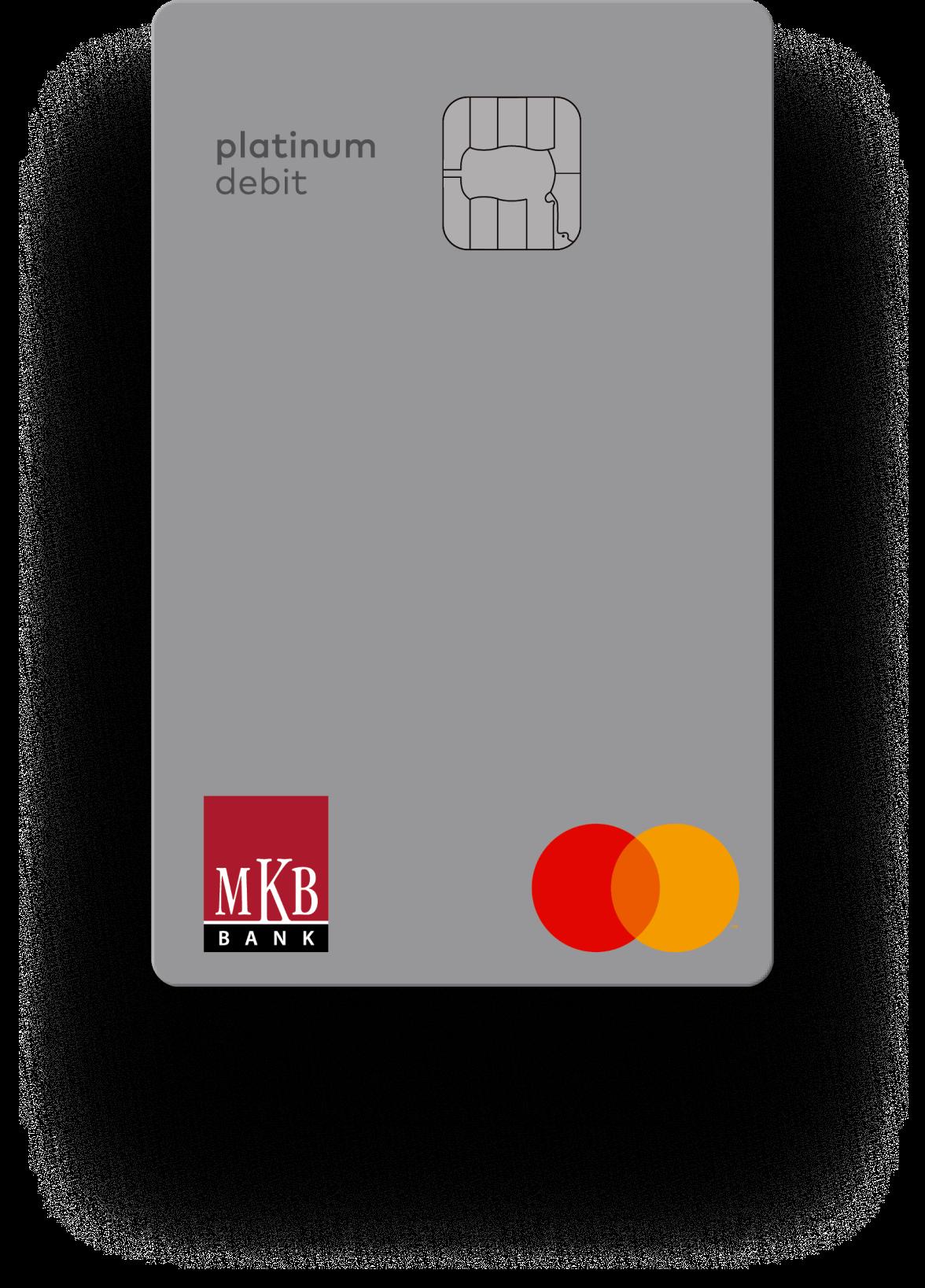MKB Platinum Metal bankkártya