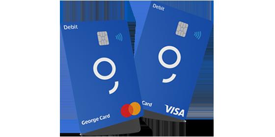 Erste Bank VISA George bankkártya