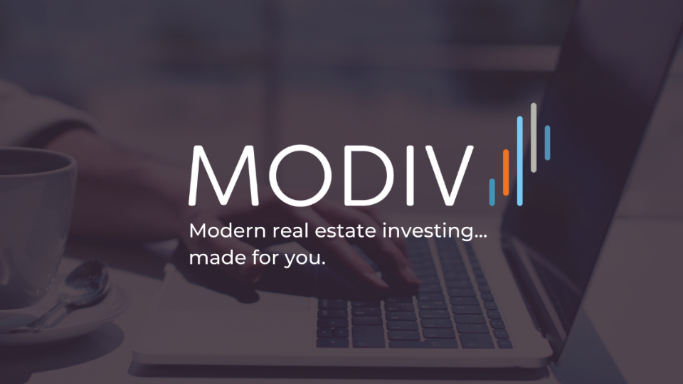 Invest in income-producing real estate with Modiv