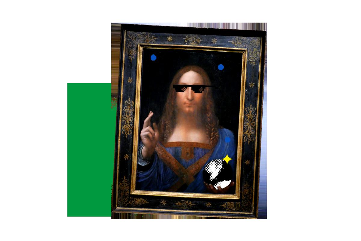 Leonardo da Vinci's Salvador Mundi $450,000,000