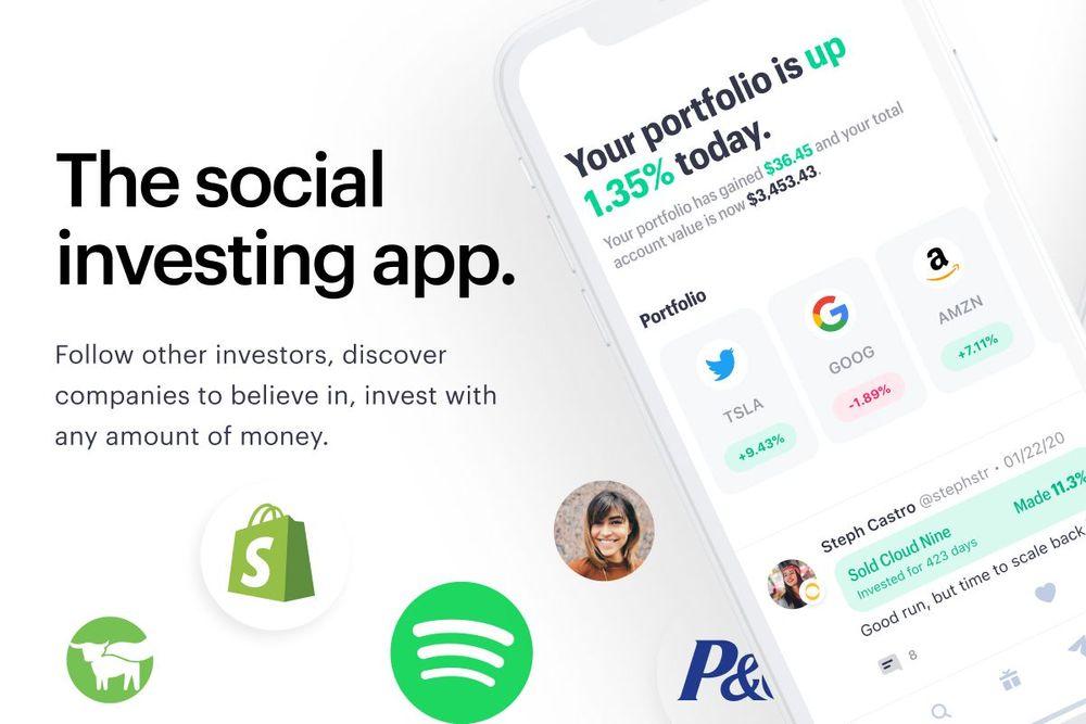 Public makes the stock market social.