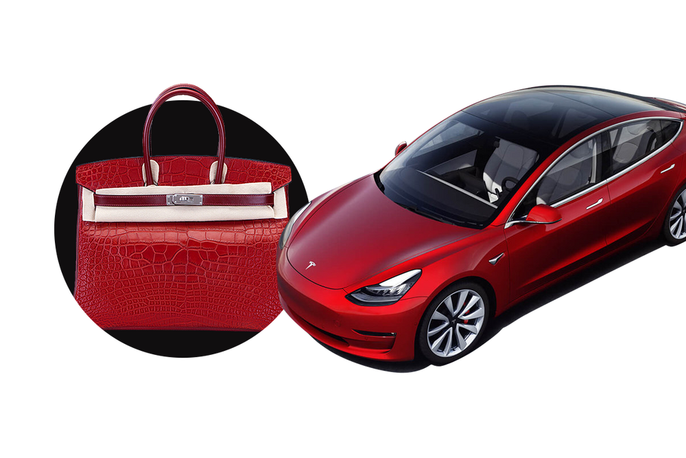 Hermès or Tesla?