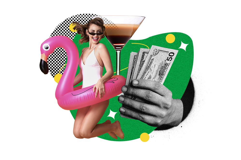 Pool your money for a pool party or fly solo?