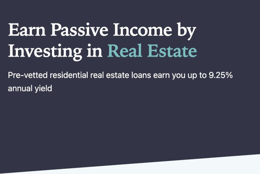 Earn passive income by investing in real estate