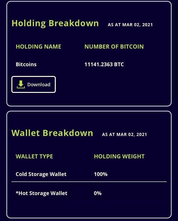 Pay taxes in BTC and ETH!