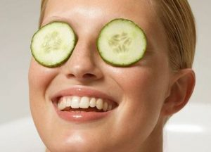 cucumber for eyes