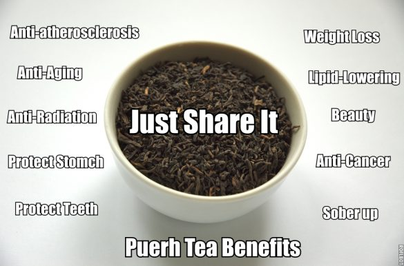 Health Benefits of Pu-Erh Tea