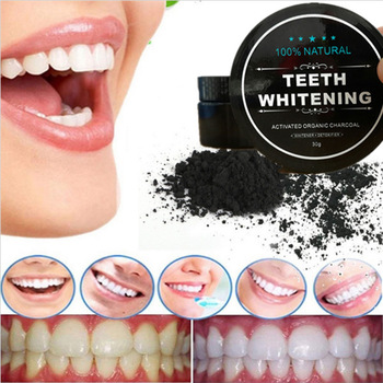 activated charchoal whitening teeth