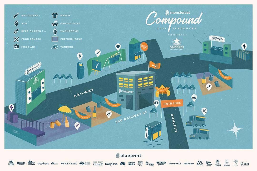 Monstercat Site Map