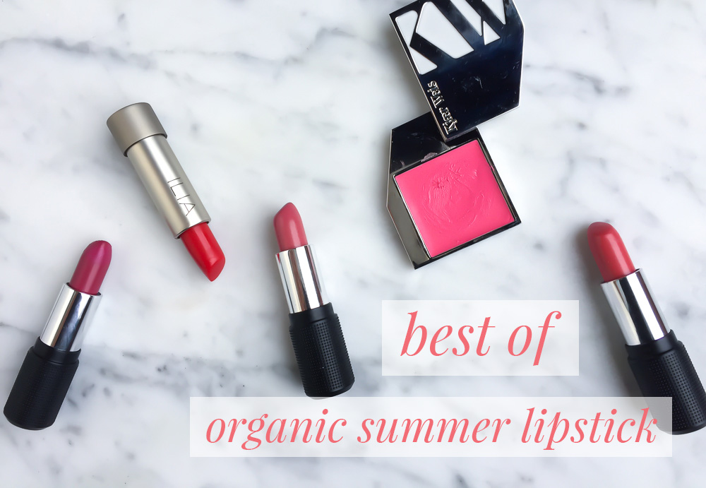 Best Organic Lipstick for Summer