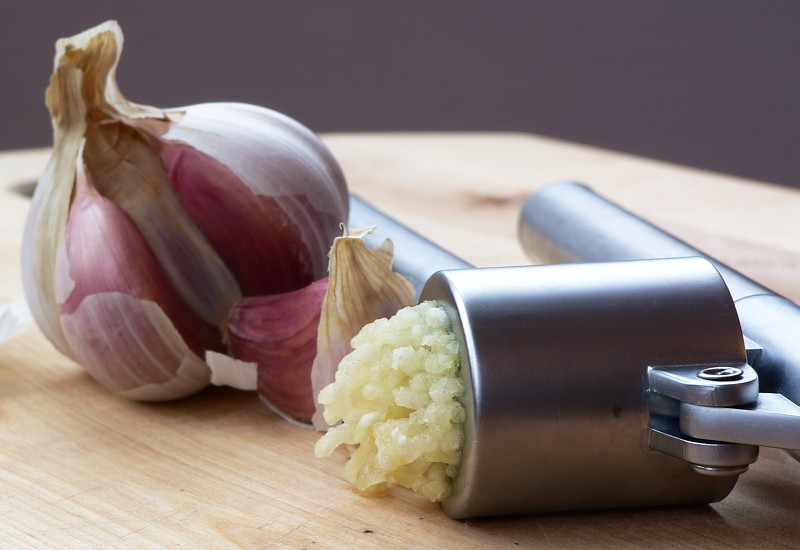 Healthy Cooking Tip:  Rest Your Garlic