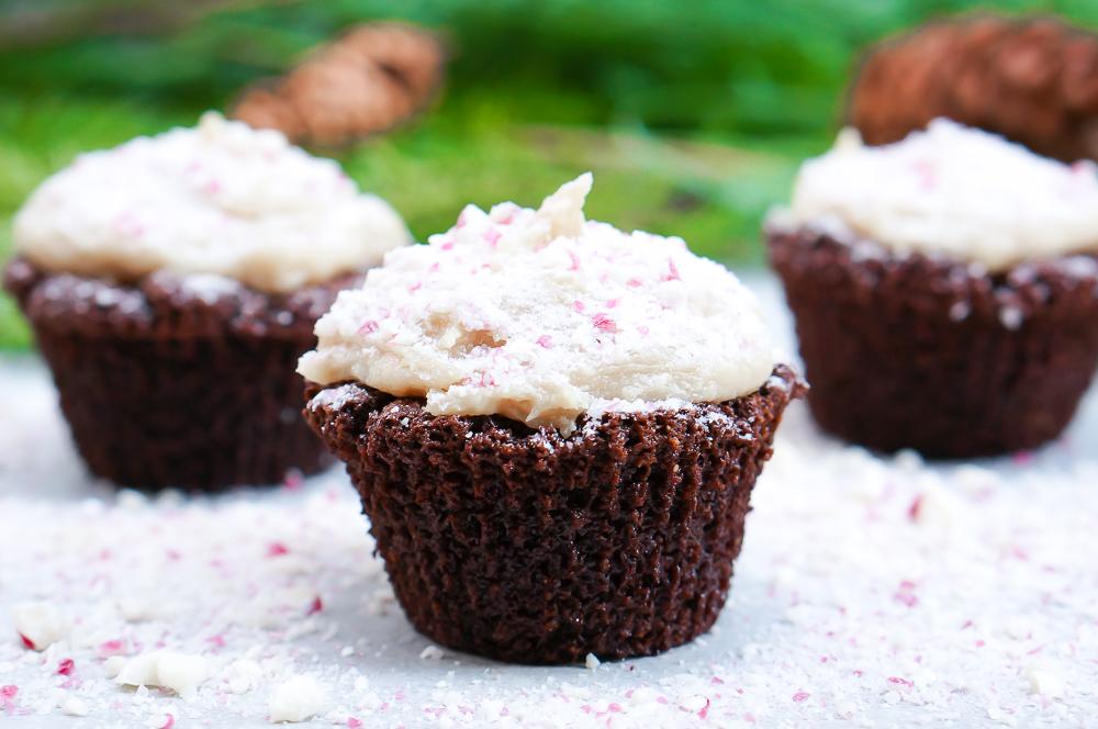 ChocolatePeppermintCupcakes