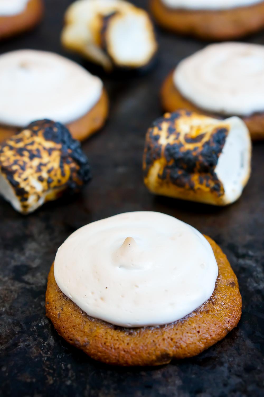S'mores Cookies (Gluten Free, Grain Free, Dairy Free, Refined Sugar Free, Paleo)