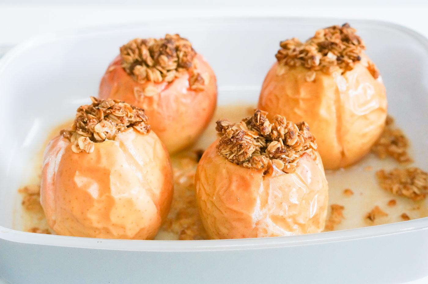 Lemon Ginger Baked Apples-5