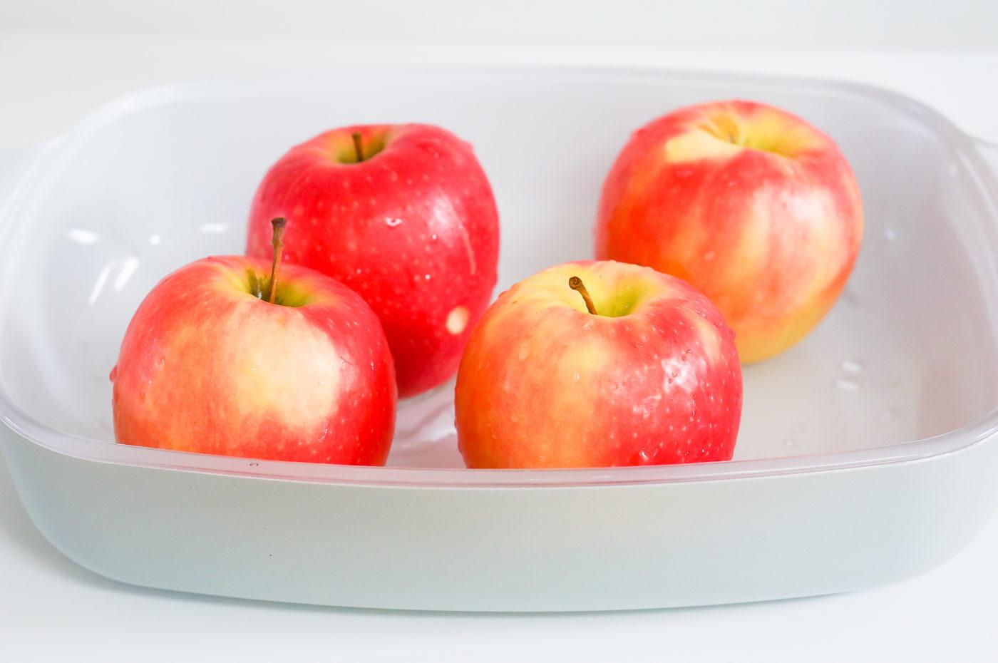 Lemon Ginger Baked Apples