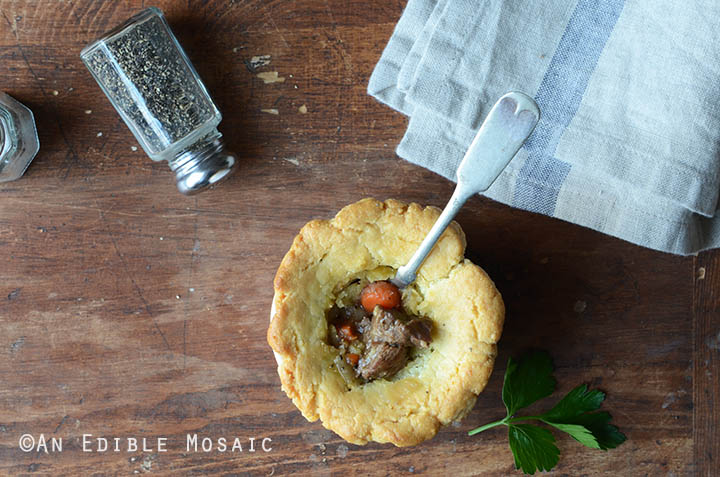 Steak, Ale, and Mushroom Pot Pies {Paleo} 3