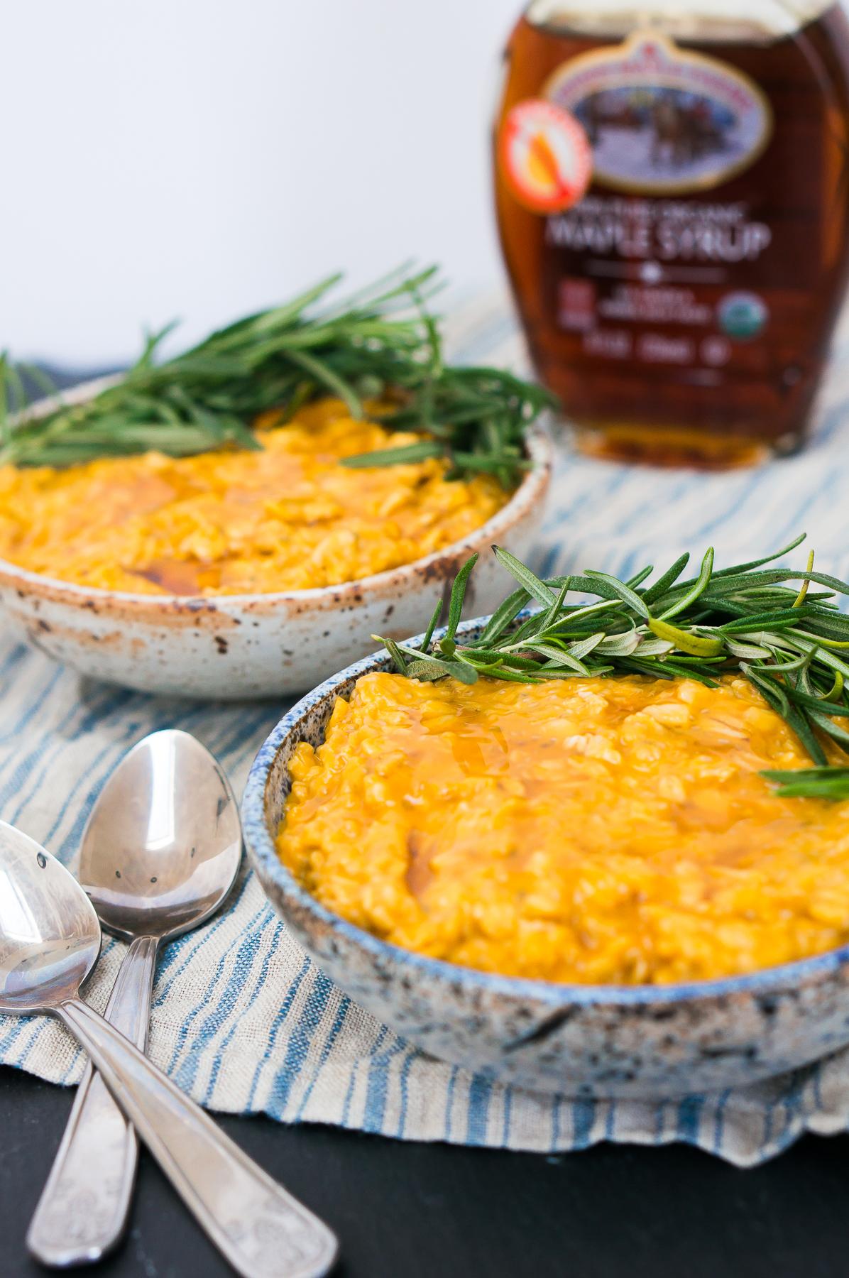 Sweet Potato Rosemary Overnight Chia Oatmeal-11