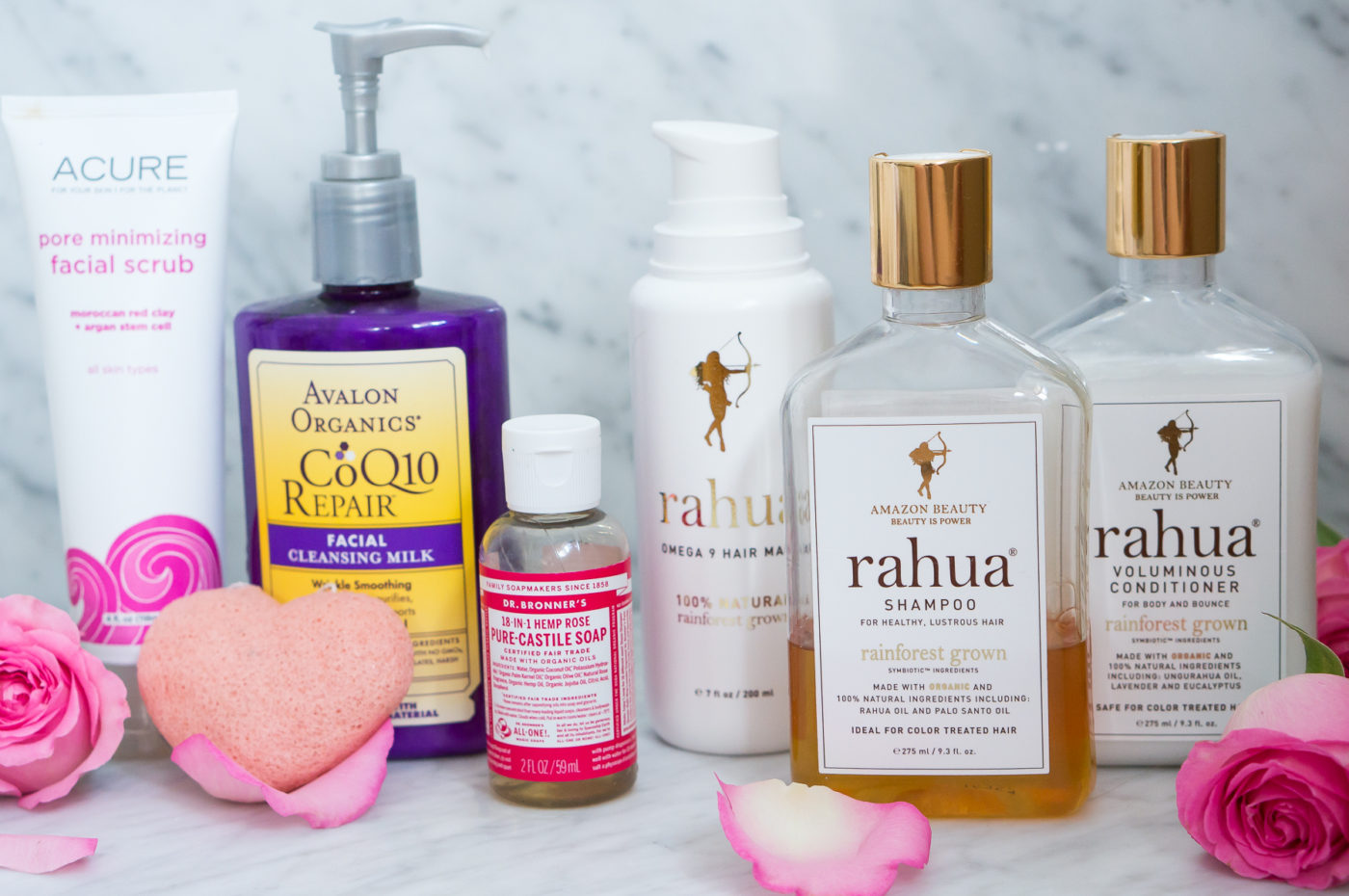 Sprouted Routes Natural Beauty Routine