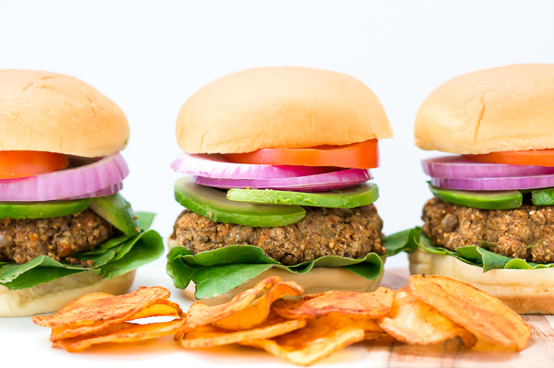 The World's Best Veggie Burgers (Gluten Free, Dairy Free, Vegan)