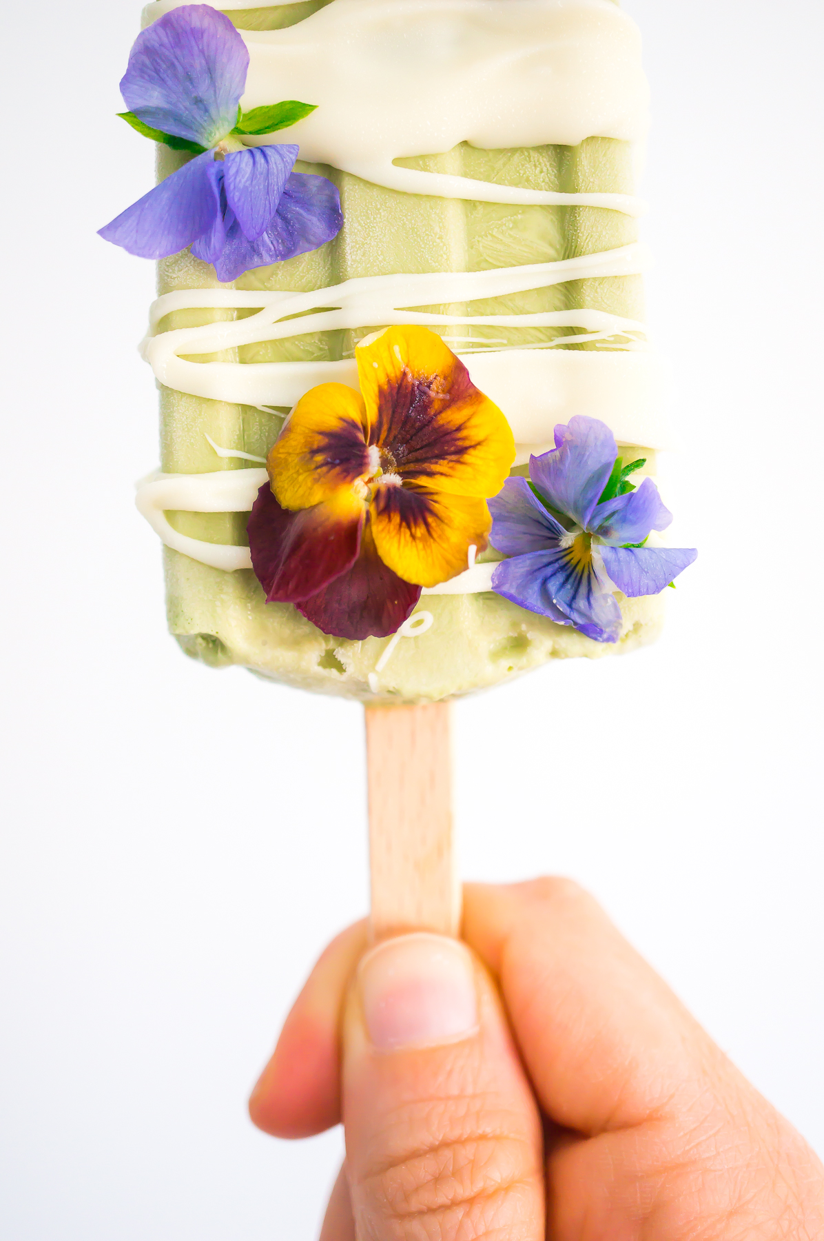 White Chocolate Basil Pops-4