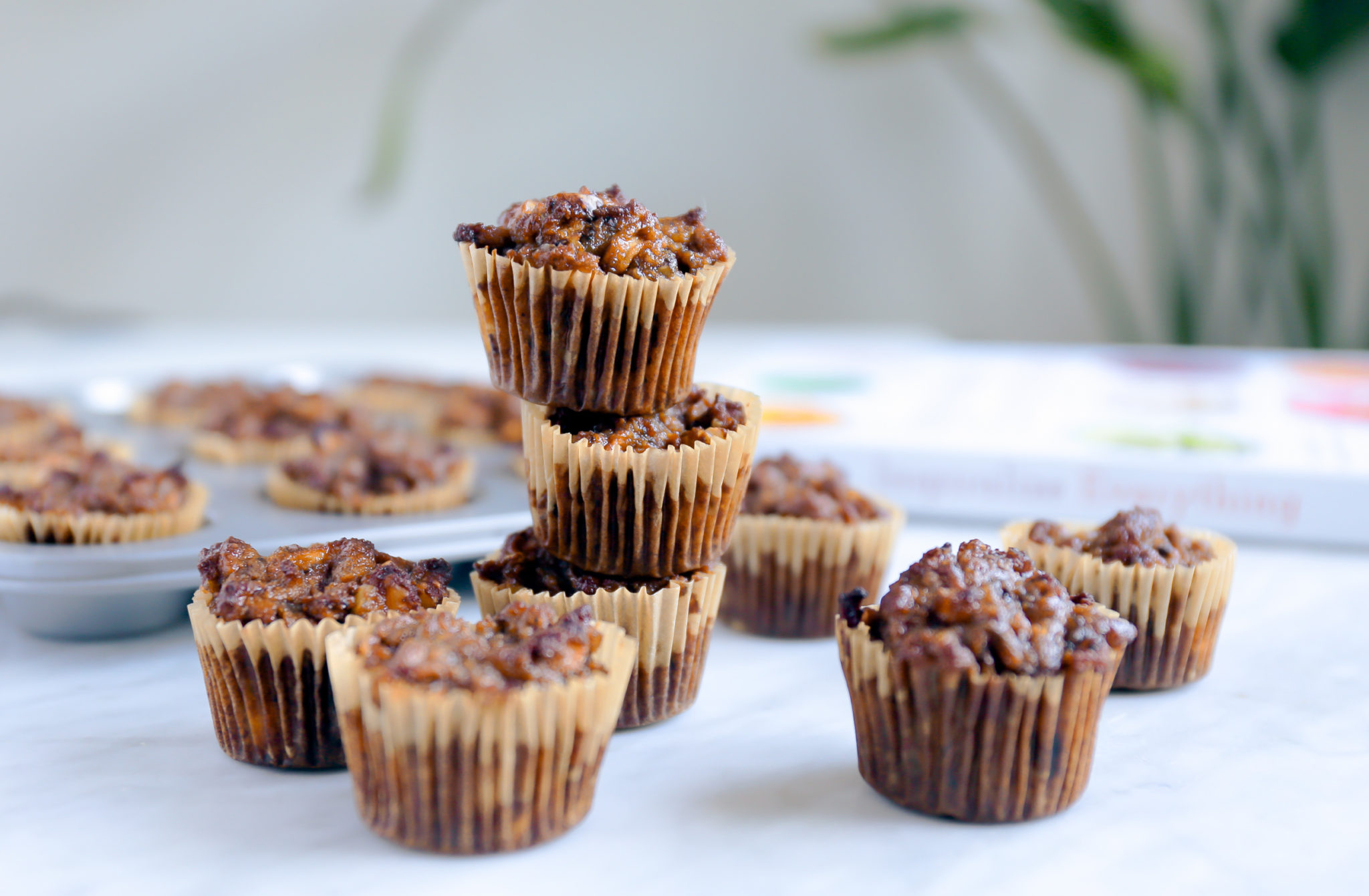 Grain Free Apple Walnut Breakfast Muffins + Cookbook and Inspiralizer Giveaway!