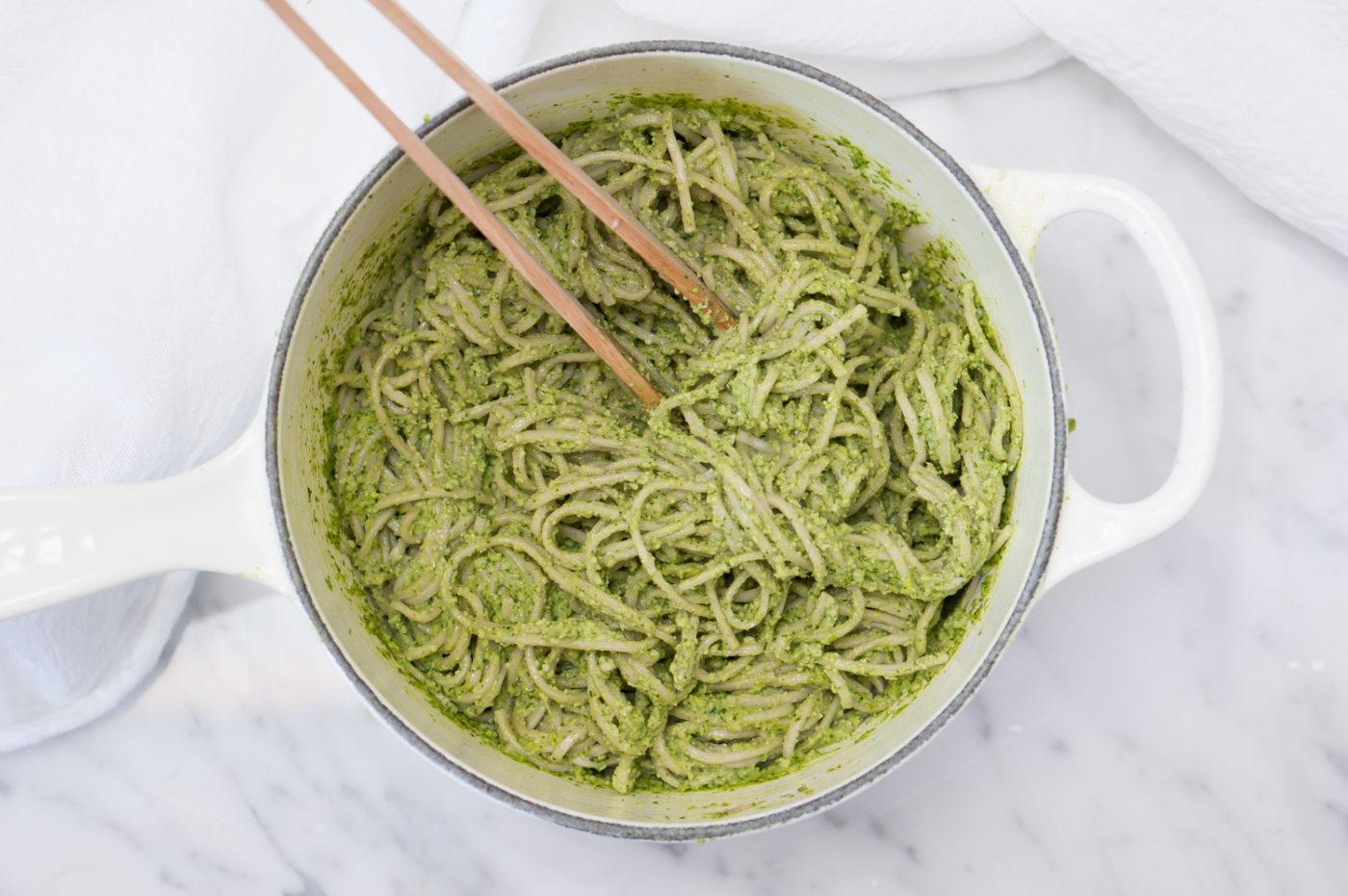 Thai Pesto Pasta-5