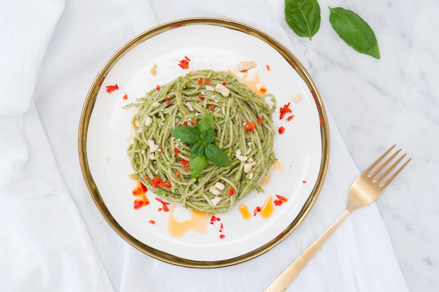 Thai Pesto Pasta-6
