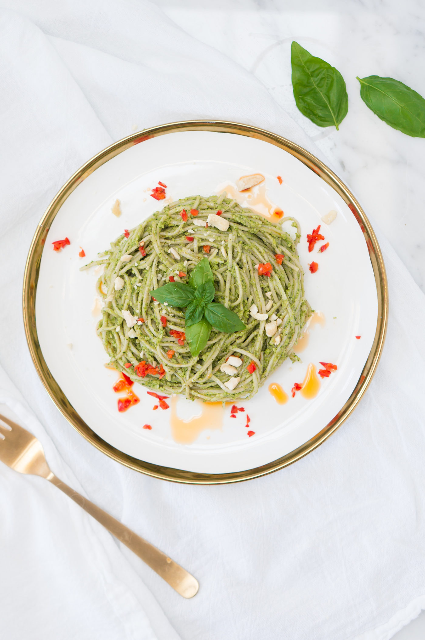 Thai Pesto Pasta-7
