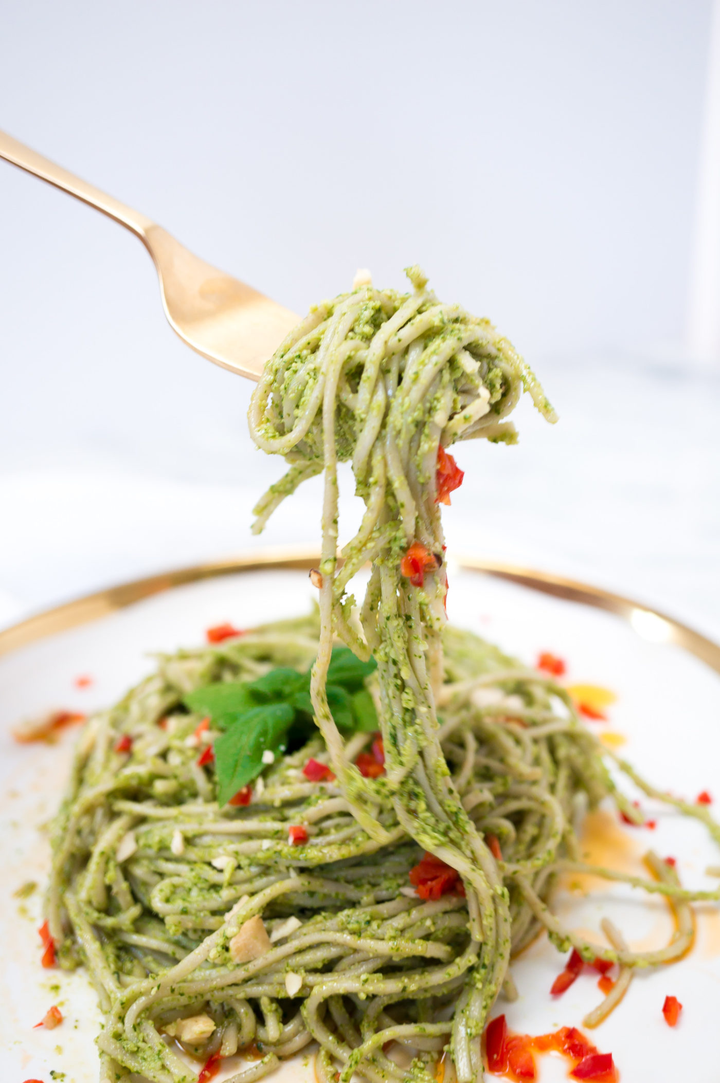 Thai Pesto Pasta-8