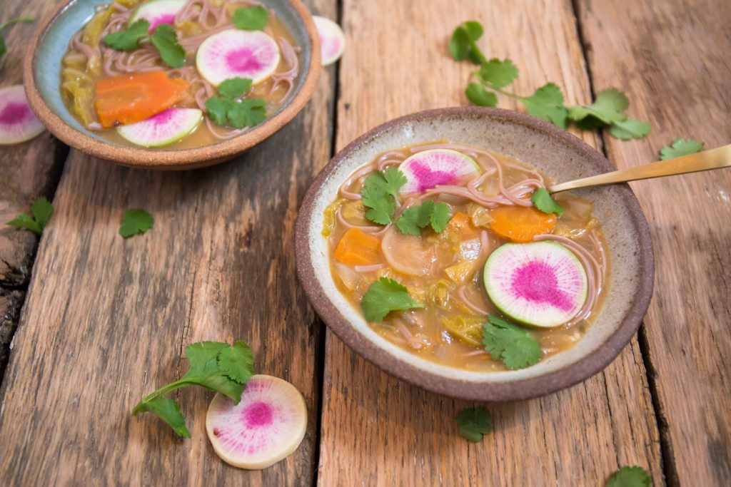 Kimchee Probiotic Soup