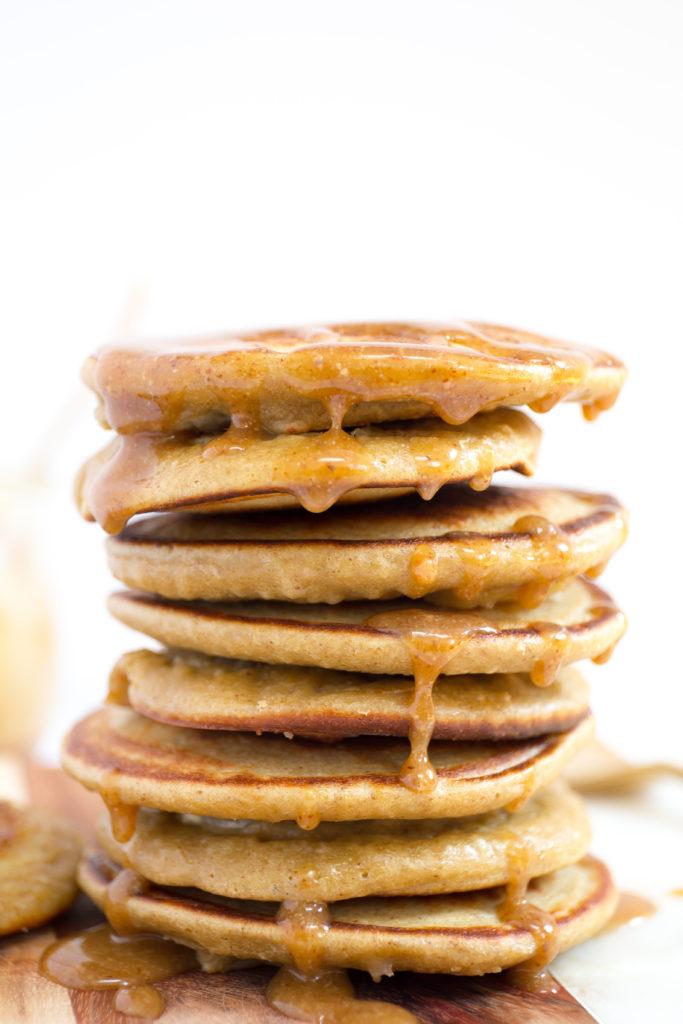 healthy banana blender pancakes