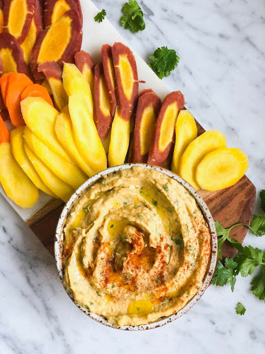 Butternut Squash Hummus (Inspired By Blue Hill)