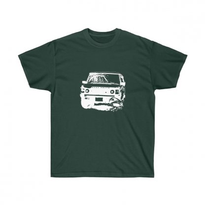 Range Rover Classic Fan's Tee Forest Green 1