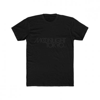 Moonlight Tokyo Logo Tee Black on Black 1