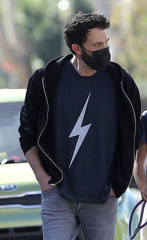 Thunder T-shirt (Dark blue) Worn by Ben Affleck 2