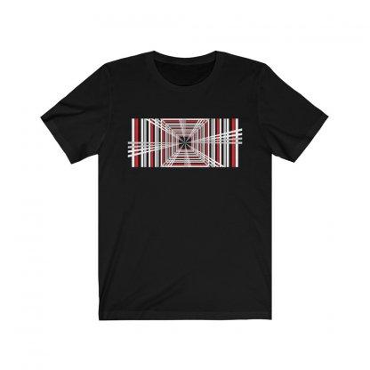Geometric Pattern T-shirt Worn by Elon Musk 1