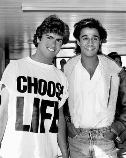 Choose Life T-shirt Worn by Wham! 2