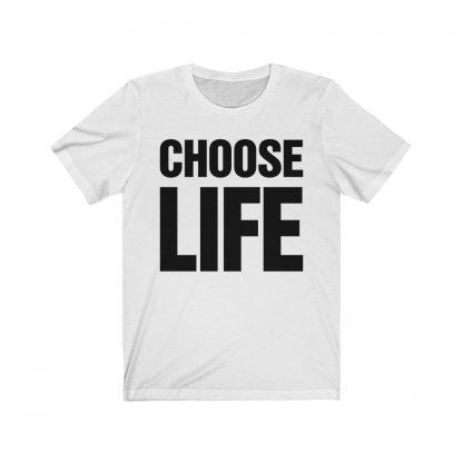 Choose Life T-shirt Worn by Wham! 1