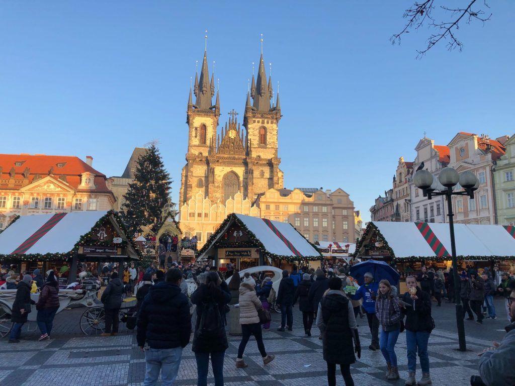 Vánoční status v Praze